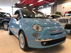 Fiat 500c LOUNGE 1957 EDITION CUIR NO ACCIDENTS 2015
