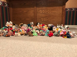 Large Collection of Ty's For Sale
