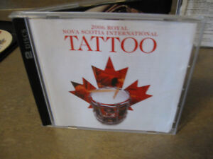 2006 Royal Nova Scotia International Tattoo 2 cd-r set + bonus