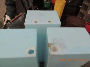 Boat plastic fuel tanks(3)- $250.oo