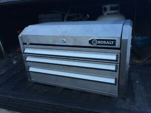 Kobalt tool Box & snap on tools