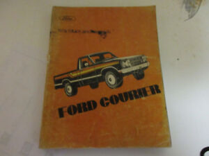 1979 FORD COURIER TRUCK SHOP MANUAL $10