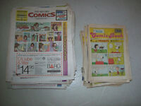 100  OLD  COMICS  FROM THE K.W.  RECORD