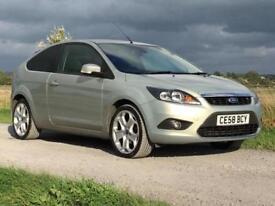 58 Ford Focus 1.6TDCi 110 Titanium FSH Stunning looking car £30 Road Tax