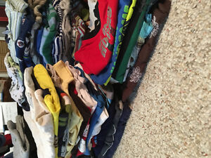 Huge baby boy clothing lot size 0-9 months!