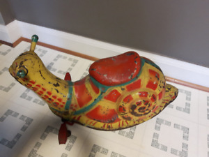 Vintage Mobo Snail Riding toy