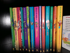 Roald Dhal books