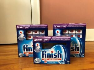 Finish Quantum Dishwasher Powerballs (144 + 13) - $40