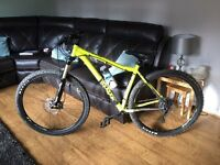 Voodoo Mountain Bike RRP £699 used for around 3 maybe 4 miles swap px car can bike mx boat l