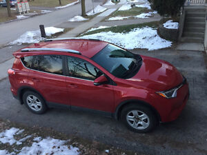2016 Toyota RAV4 LE with Upgrade package and WINTER TIRES
