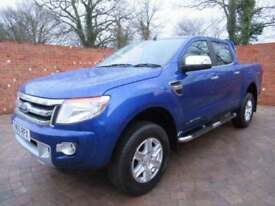 FORD RANGER DOUBLE CAB LIMITED LWB 150 BHP AIR CON HEATED LEATHER ALLOYS