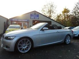 2008 08 BMW 3 SERIES 3.0 325I M SPORT 2D AUTO CONVERTIBLE FULL LEATHER