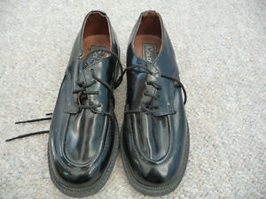 Gently Used Boy's Black Dress Shoes - Size 13 London Ontario image 1