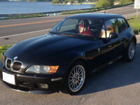1998 BMW Z3 M PACKAGE WITH RED NAPPA LEATHER INTERIOR