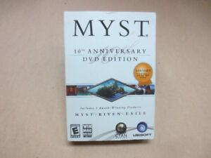 Myst 10th Anniversary DVD Edition, New Sealed PC Game Collection