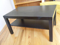 Little Black Coffee Table $15 OBO