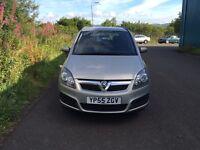 Vauxhall zafira 7 seater.