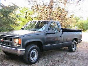1995 Chevrolet 3/4 Pickup with dump box $3000  bottom line. firm