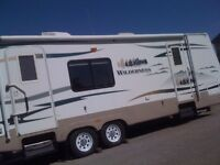28' Fleetwood Wilderness Travel Trailer