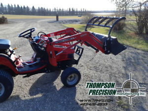 Acreage Tractor Grapples and Cutting Edges- CANADIAN MADE