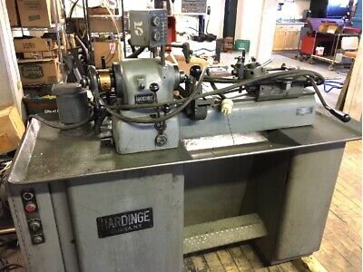 Hardinge Dsm59 Precision Second Operation Lathe 5c Collet Turret Crossslide