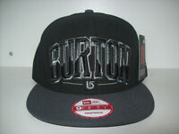 NEW : BURTON SNAPBACK NEW ERA ONE SIZE FITS ALL AJUSTABLE City of Montréal Greater Montréal Preview
