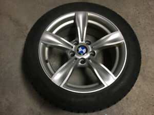 4 BMW Winter Tires w/rims ALMOST NEW!!!