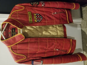 Rare red Baby Phat leather jacket
