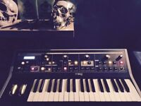 Moog Little Phatty (original) Analogue Synthesiser + stand