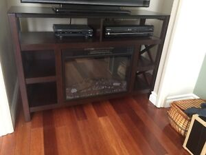 Electric Fireplace/TV stand for sale