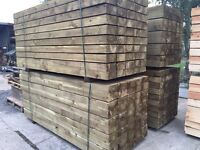 🔨🌟Garden Edging / Garden Fence Post / Railway Edging
