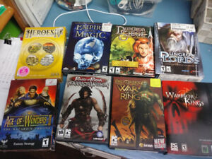 Various PC Games in full boxes