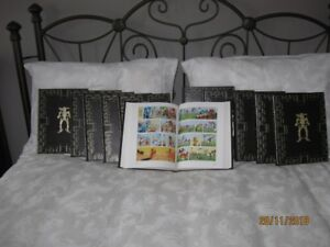 Collection Lucky Luke , 11 albums totalisant 55 aventures.