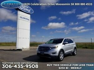 2017 Ford Edge Titanium  - Leather Seats -  Bluetooth - $240.41
