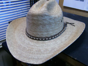 Cowboy hat -- Made in Mexico