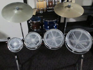 """6,8,10,12"""" Roto toms. Made by Remo. Rack is available too."""