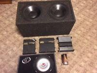 MTX, Kicker and Alpine Stereo equipment