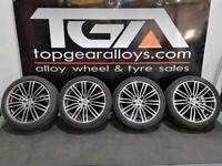 "19"" Original OEM BMW 664m Alloy Wheels & Tyres 5X112"