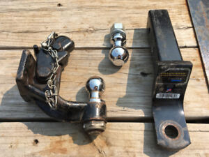 Trailer Hitches and Chains w/Hooks
