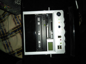 3 desk top computers and printer for sale make an offer