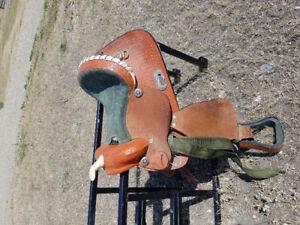 "12.5 ""  kids western saddle"
