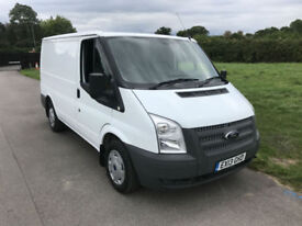 2013 Ford Transit 2.2TDCi 100PS EU5 T300 SWB Low Roof Van **46,800 Miles**