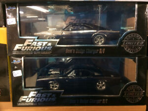 fast & furious charger  black chrome 1/25 scale??? diecast