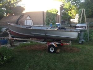 16 Foot Aluminum Boat for Sale