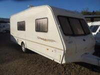 Bailey Senator Arizona 2004 4 Berth End Washroom Single Axle Touring Caravan
