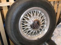 Mercury Grand Marquis Mags with: 215/75/15 Toyo 800 Ultra tires!