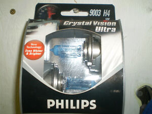 Philips CrystalVision ULTRA HEAD LAMP BULB  2 PACK