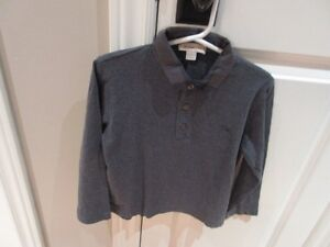 Burberry boys shirt size 5 years old.