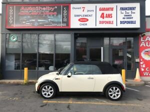 Mini Cooper Convertible CABRIOLET-CUIR-JAMAIS ACCIDENTER 2008