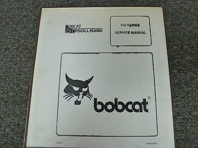Bobcat Models 741 742 743 743ds Skid Steer Loader Shop Service Repair Manual